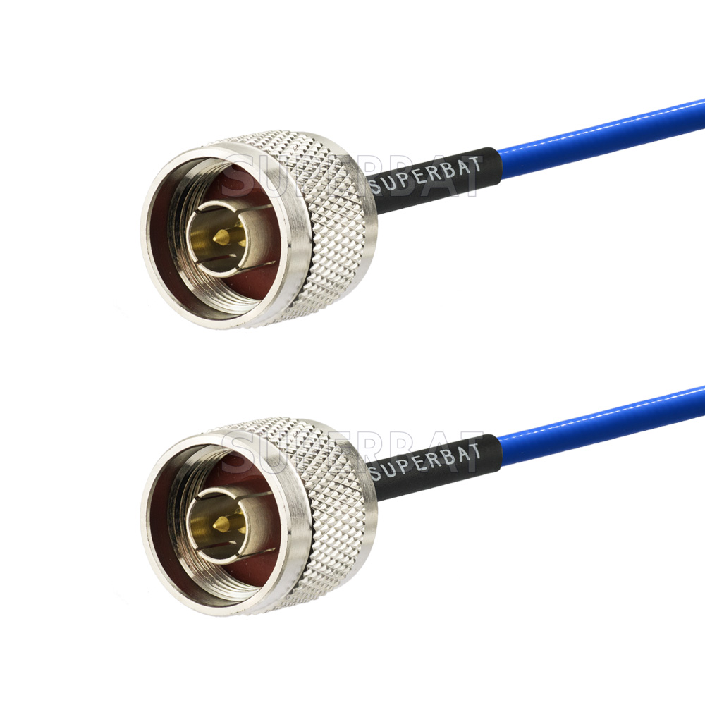 Superbat Semi Rigid Jumper Cables N Male To Connector 141 Microwave Coaxial Cable Emblies