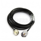 RF coaxial UHF Male PL-259 to NMO mount Jumper RG58 Extension Cable-Truck Antenna Adapter Cable for Yaesu Kenwood HYT Vertex Icom Mobile Radio